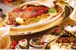 Arabian Desert Food