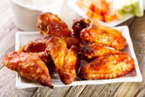 calories in chicken wings